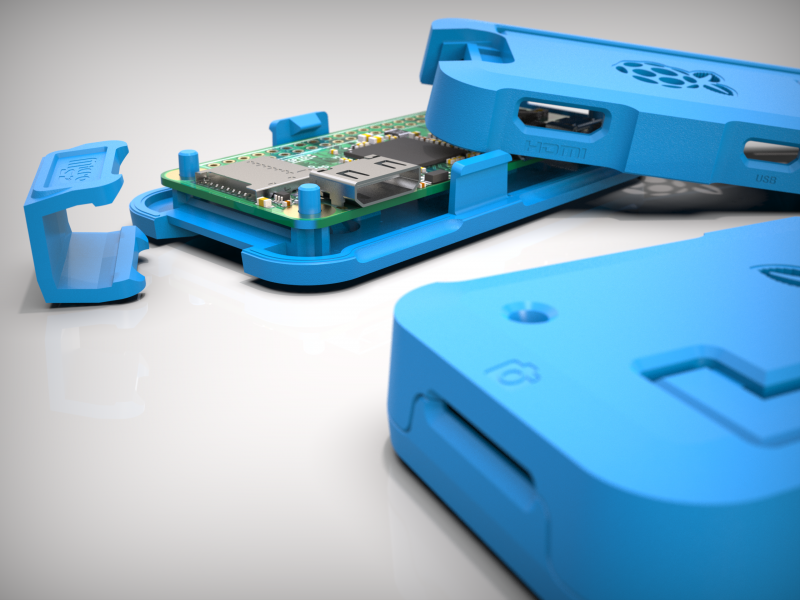 injection moulded raspberry pi