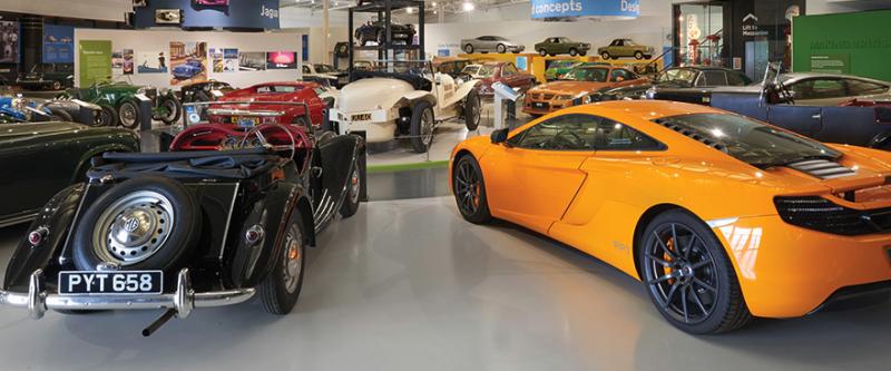 motor museum gaydon