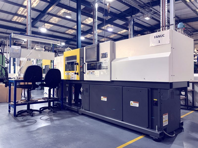 Fanuc Roboshot All Electric a-S50iA Injection Moulding Machine
